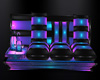 NEON HARD ROCK COUCH