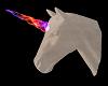Neon Unicorn Head