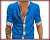 Blue Open Shirt