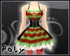 Lolly Stripe Dress[xmas]