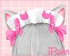p. neko pink maid hat