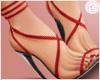 £. Valentine Red Heels