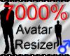 *M* Avatar Scaler 7000%