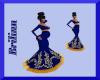 [B] Blue Prego Gown