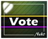*NK* Vote (Sign)