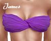 Purple bandeau