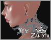 Metallic Carved Collar