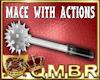 QMBR Mace & Actions M/F