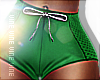 Retro Shorts Green RLL