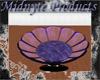 -AN- Purple Flower Chair