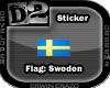 [D2] Flag Sweden