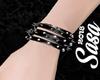 (L) Goth Spike bracelet