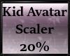 Kid Avatar Scaler 20%
