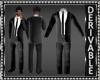 Blazer Suit wNcktie Mesh