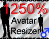 *M* Avatar Scaler 1250%