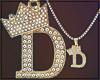 ☎ Gold Chain D   F