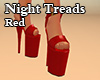 Night Treads Red