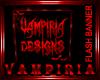 .V. Vampiria Flash Banne