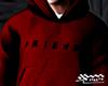 Red Baggy Hoodie