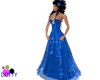 Blue magic gown