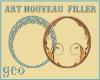 Art Nouveau Fillers