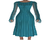 Dunabe Teal Dress
