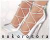 n| Miley Heels White