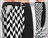 "Ⱥ"" Chrome Black Pants"