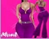 ♕ Fit Purple
