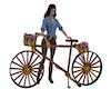 Antique Wood Bike