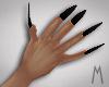 Long Black Nails