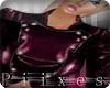 {P}Mauve Leather Jacket