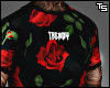 """Floral"" Trendy T-Shirt."