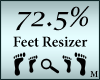Foot Shoe Scaler 72.5%