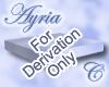 Ayria Derivable Landing