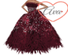 Hearts Feather Dress