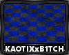 Blue&Black CheckerCarpet