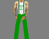 green irish pants