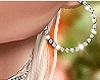 NK Sexy Earrings Silver