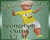 Spongebob Outfit M V3