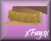 (F)Gold Choker w/Cross