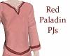 Paladin PJs Red