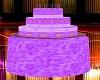 [A] Purple cake table