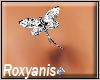 Silver Dragonfly Piercin
