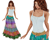 TF* BOHO Top & Skirt
