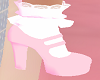 Lt Pink Doll Shoes