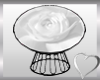 White Rose Cuddle Chair