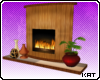 [K] Fireplace W/ Hearth