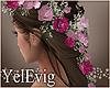 [Y] Floral brown H