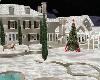 Christmas mansion